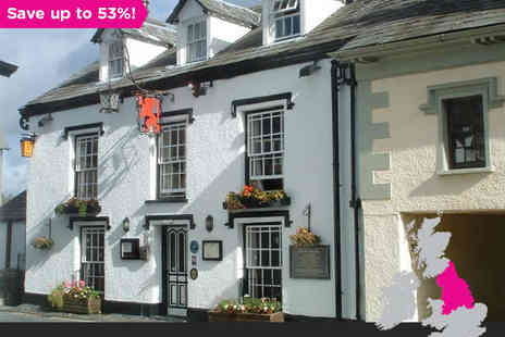 Red Lion Inn  - One, Two or Three Night Stay for Two with Accommodation in a Standard Room -  Save 53%