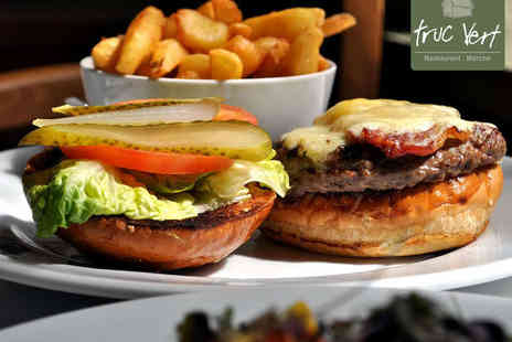 Truc Vert - Wagyu Beef Burger with Craft Beer for Two - Save 50%