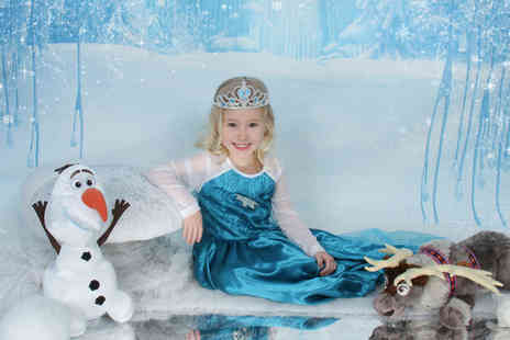 Ice Princess Photos - Kids Frozen inspired ice princess photoshoot and one print  - Save 86%