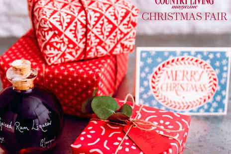Country Living Magazines Christmas Fair - Ticket to the Country Living Christmas Fair - Save 24%