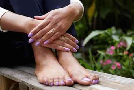 Get Nailed - Gel Manicure or Pedicure - Save 56%