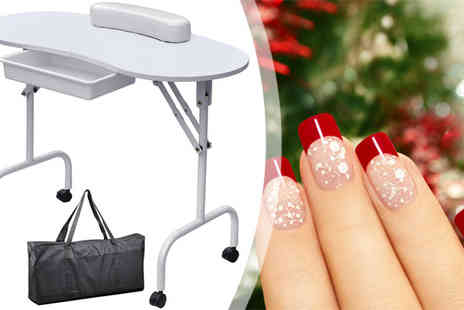 Plus Bee - Portable Manicure Station - Save 0%
