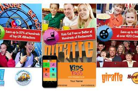 Kids Pass - Kids Pass for Great Family Savings - Save 50%