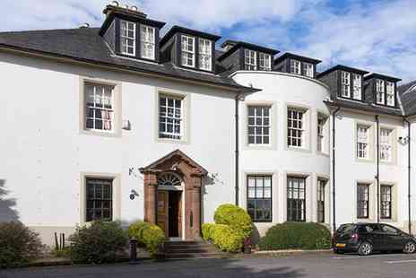 Hetland Hall Hotel - Two Night Dumfries Country House Break with Meals - Save 48%