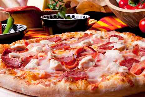Stacks Pizzeria - Family Pizza Meal with Sides and Drinks  - Save 0%