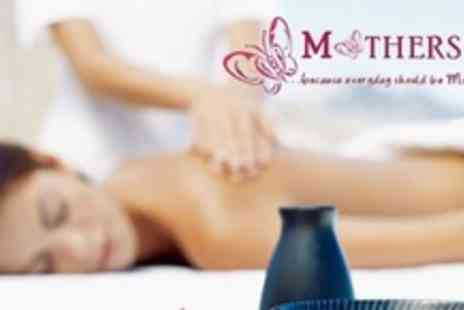 Mothers Inc - One Hour Full Body Massage With 30 Minute Facial and Child Care - Save 51%