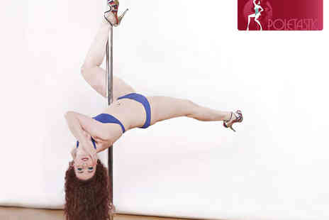 Poletastic - Four Pole Dancing Classes over 28 or 42 Days - Save 52%