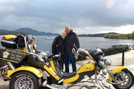 Trike Tours Scotland - Trike Tour and Photoshoot For Two   - Save 0%