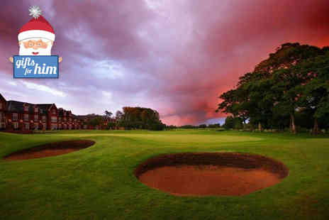 Formby Hall Golf Resort - Day of winter golf and lunch for two- Save 30%