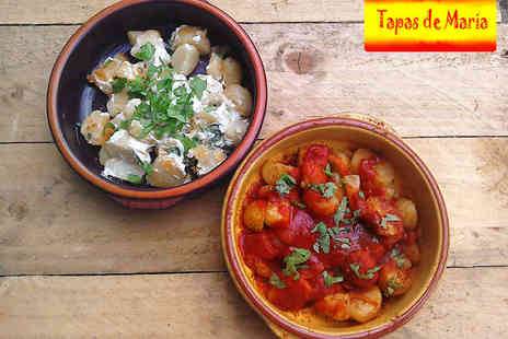 Tapas de Maria - Three Hour Paella or Tapas Cookery Course for One  - Save 68%