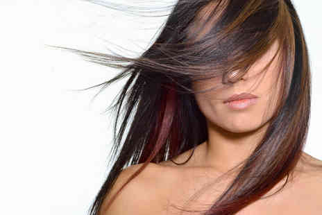 Glamour Hairdresser Salon - OlaPlex Treatment plus Half Head Highlights Long Hair - Save 53%