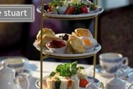 The Stuart Hotel - Afternoon Tea For Two With Cakes, Scones and Sandwiches - Save 68%