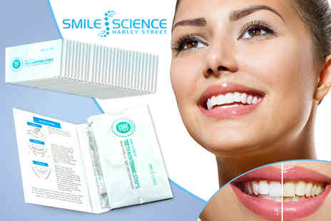 Face London - Pack of 28 teeth whitening strips - Save 69%