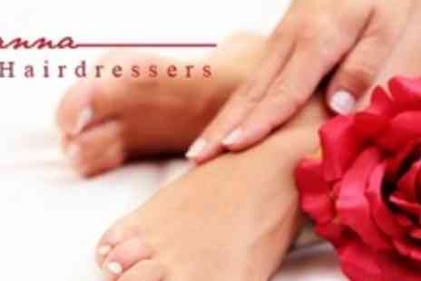 Cianna Hairdressers - Manicure and Pedicure - Save 69%