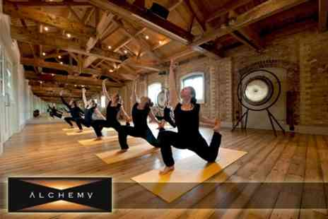 Alchemy - Five £20 Yoga Classes - Save 69%