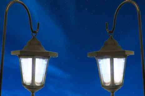 Gift Mountain - Two Solar Garden Lanterns  - Save 55%