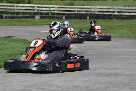 Whilton Mill -  30 laps of outdoor go karting for one   - Save 38%