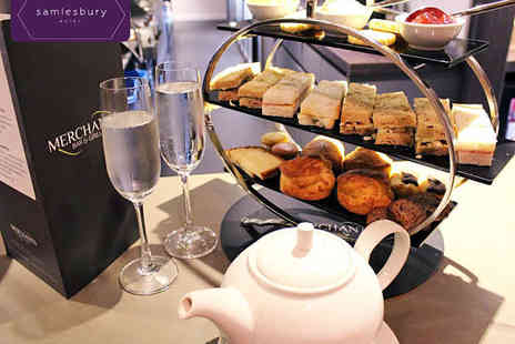 Samlesbury Hotel - Afternoon Tea for Two with Glass of Prosecco Each for Two - Save 51%
