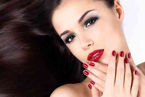 hairway - Wash, Cut, Blow Dry, Deep Conditioning Treatment and Manicure  - Save 74%