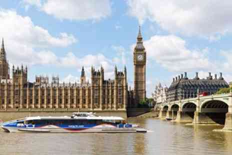 Thames Clipper  - Ticket to Thames River Cruise - Save 39%