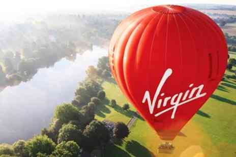 Virgin Balloon - Champagne Hot Air Balloon Package for Two including Extras - Save 18%