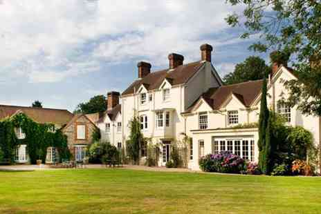 Esseborne Manor -  Delightful Hampshire Manor Stay With Dinner - Save 44%
