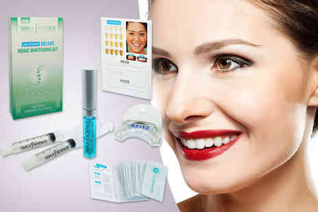 Face London - Seven piece home teeth whitening combo kit including 14 strips - Save 80%