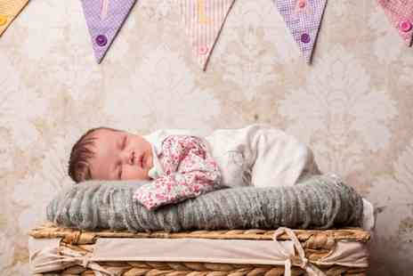 Natalie Jayne Photography - Newborn or Bump to Baby Photoshoot with Prints, Two Key Rings and a £50 Voucher  - Save 88%