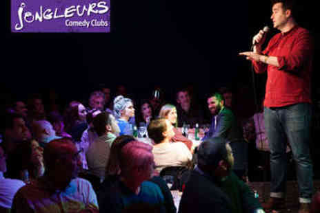 Jongleurs - Comedy Night Ticket for Two - Save 56%
