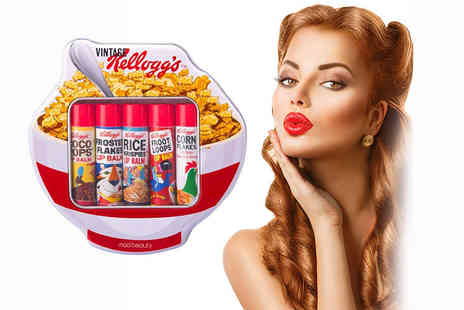 My Perfume Room -  Five piece set of vintage Kelloggs cereal flavoured lip balms - Save 50%