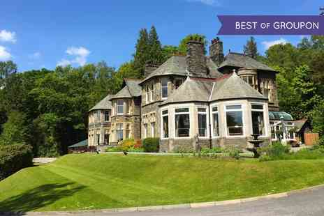 Merewood Country House Hotel - One to Three Nights stay For Two With Breakfast, Cream Tea and Prosecco  - Save 0%