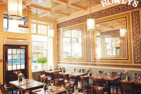 Rowleys Restaurant - Cote de Boef with Unlimited Fries for Two - Save 47%