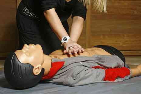 One Day Courses - First aid course including a three year certificate - Save 84%