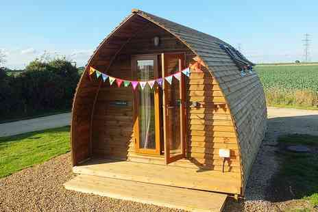 Crowtree Wigwams - One or Two Nights stay For Up To 4 With Grill, Fire Pit and Tennis Court Access - Save 52%