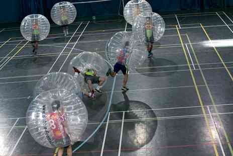 EXCEL Bubble Footbal - Zorb Football Experience For Up to 15  - Save 29%