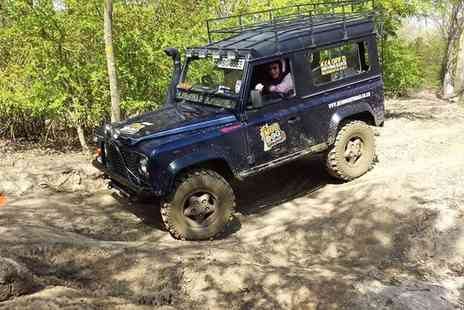 I Can Experience - 4x4 Off Road Land Rover Driving Experience for One - Save 75%