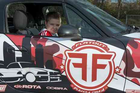 Flatout Factory - Skids for Kids Introduction to Drifting for One - Save 51%