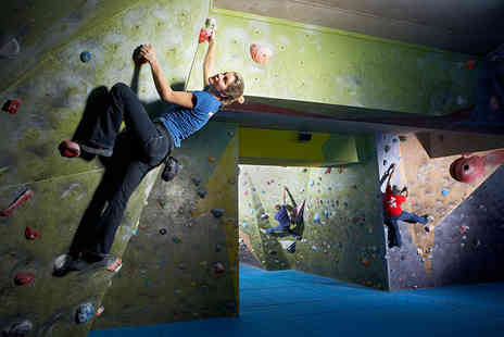 The Climbing Academy - Two climbing sessions for one  including membership fee and shoe hire - Save 62%