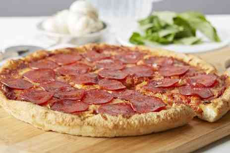 Stacks Pizzeria - Pizza Takeaway Meal with Sides and Drinks for Two  - Save 0%