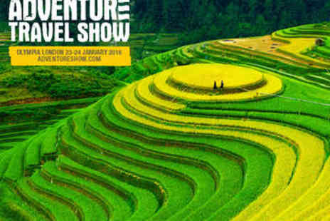 Adventure Travel Show - Ticket to the Adventure Travel Show - Save 48%
