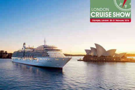Olympia - Two Tickets to The London Cruise Show - Save 63%