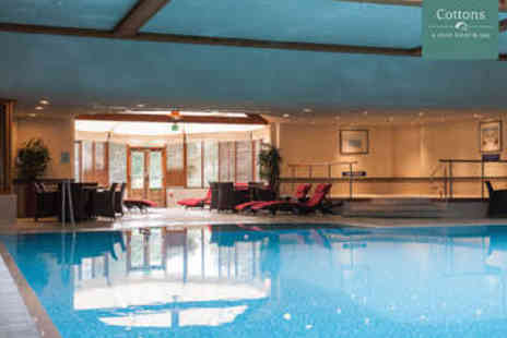 Cottons Hotel - Enjoy a spa day - Save 48%