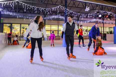 Wyevale Garden Centres - Ice Skating for Adult and Child or Family - Save 44%