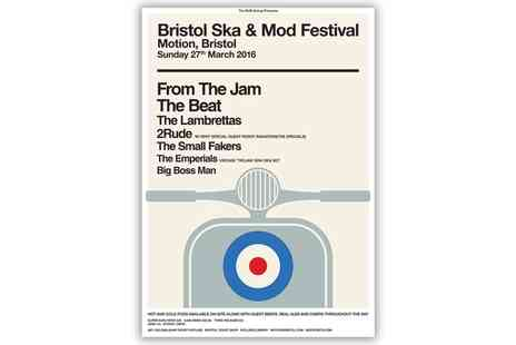 Alchemy Promotions - One Ticket to Ska & Mod Festival on 27 March - Save 0%