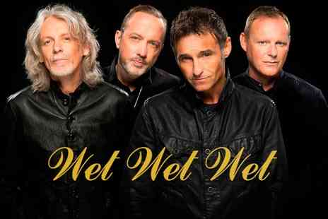 LCC Live - One Ticket to Wet Wet Wet on 14 March - Save 0%
