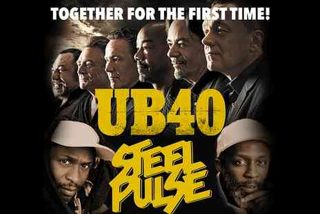 Neil O'Brien Entertainment - One Ticket UB40 and Steel Pulse Entry on 20 December  - Save 0%