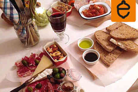 Epicured - Sharing Platter with Wine for Two - Save 0%