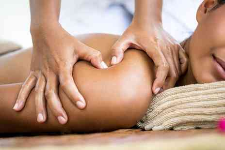 City Day Spa - One Hour Hot Bamboo Massage with Indian Head Massage - Save 59%