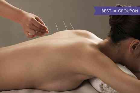 Dr TCM Kingston - Acupuncture and Massage Session  - Save 70%