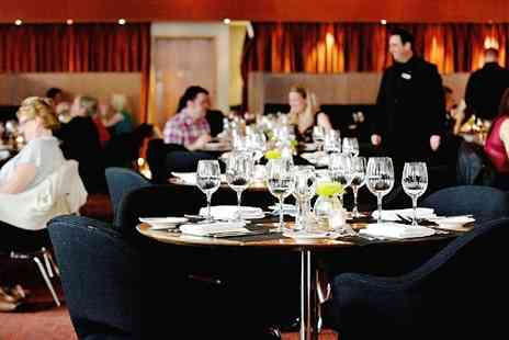Hilton  -  Dinner & Bubbly for Two  - Save 53%